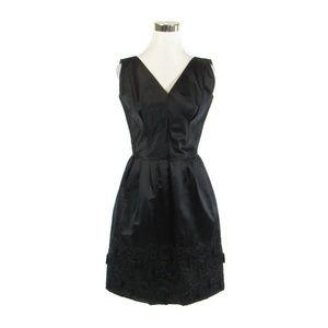 Lenore Zapoleon black vintage dress S